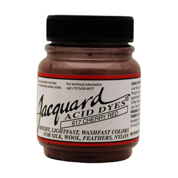 Jacquard Cherry Red Acid Dyes