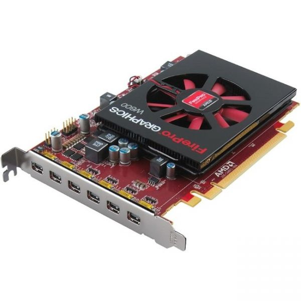 AMD FirePro W600 Graphic Card - 2 GB GDDR5 - Half-length/Full-height - Single Slot Space Required