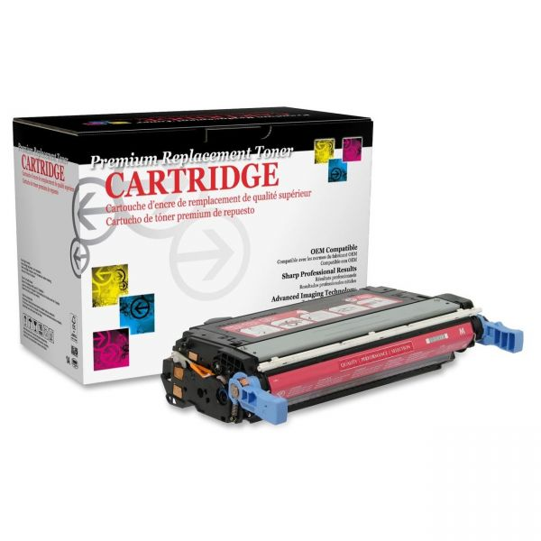 West Point Products Remanufactured HP CB403A Magenta Toner Cartridge
