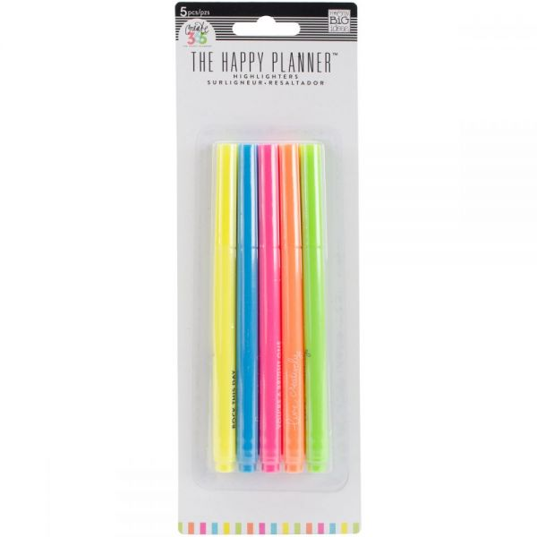 Create 365 Happy Planner Highlighters 5/Pkg