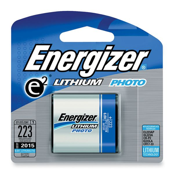 Energizer 223 e2 Lithium Photo Battery Pack