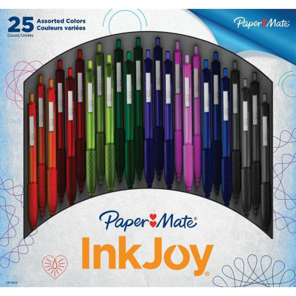 InkJoy 300RT Retractable Ballpoint Pens 1.0mm 25/Pkg