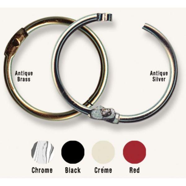 "Custom Binding Rings Medium 1.5"" 10/Pkg"