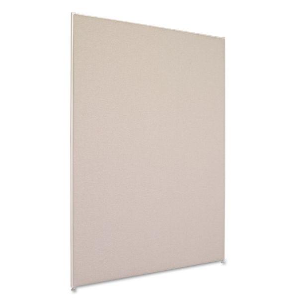HON Versé Office Panel, 48w x 72h, Gray