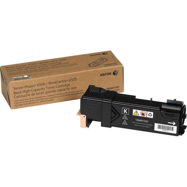 Xerox 106R01597 Black High Yield Toner Cartridge