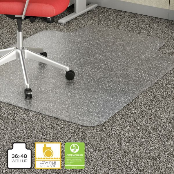 Lorell Economy Weight Low Pile Chair Mat