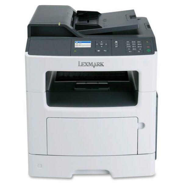 Lexmark MX310DN Laser Multifunction Printer - Monochrome - Plain Paper Print - Desktop