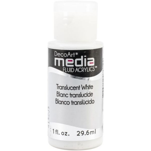 Deco Art Translucent White Media Fluid Acrylic