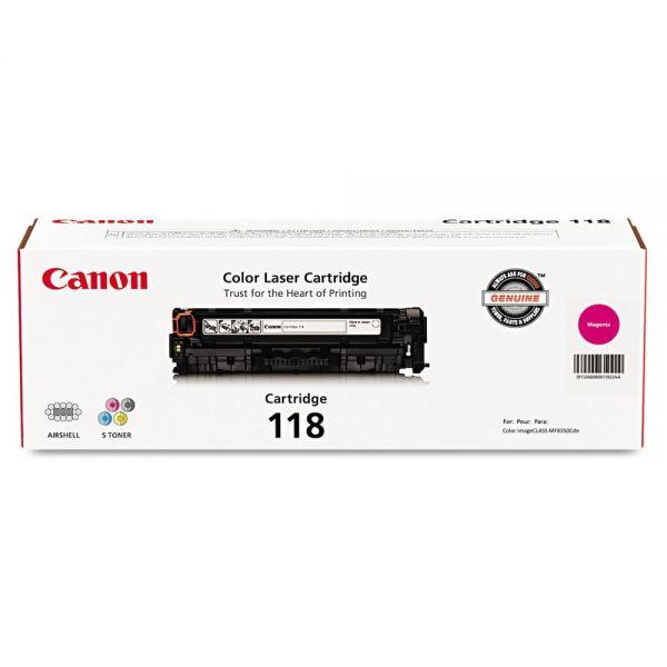Canon 118 Magenta Toner Cartridge (2660B001)