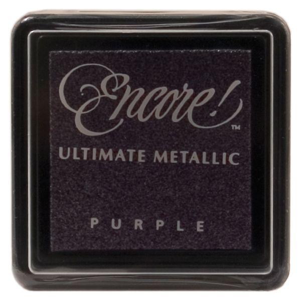 Encore Ultimate Metallic Small Ink Pad