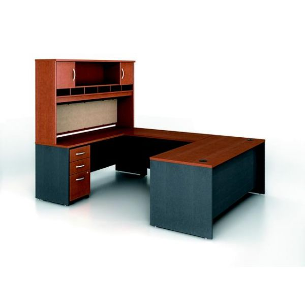 bbf Series C Executive Configuration - Auburn Maple finish by Bush Furniture