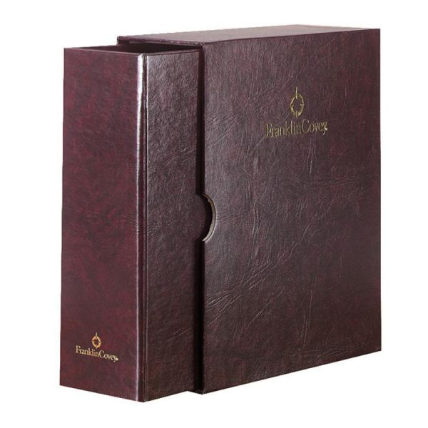 Franklin Covey Classic Storage Binder and Sleeves