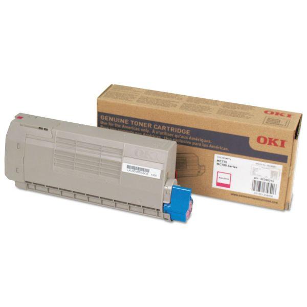 Oki 45396210 Magenta Toner Cartridge
