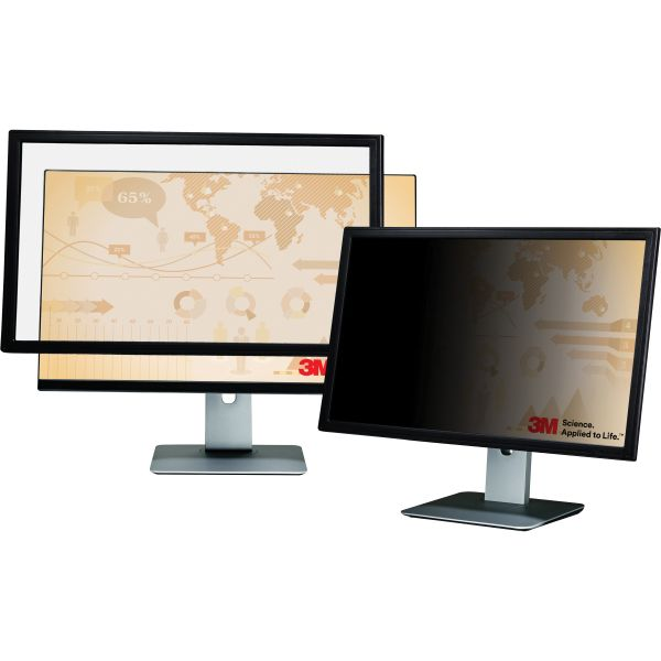 "3M Framed Desktop Monitor Privacy Filter for 16"" to 17"" Widescreen LCD, 16:10"