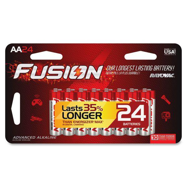 Rayovac Fusion Performance AA Batteries