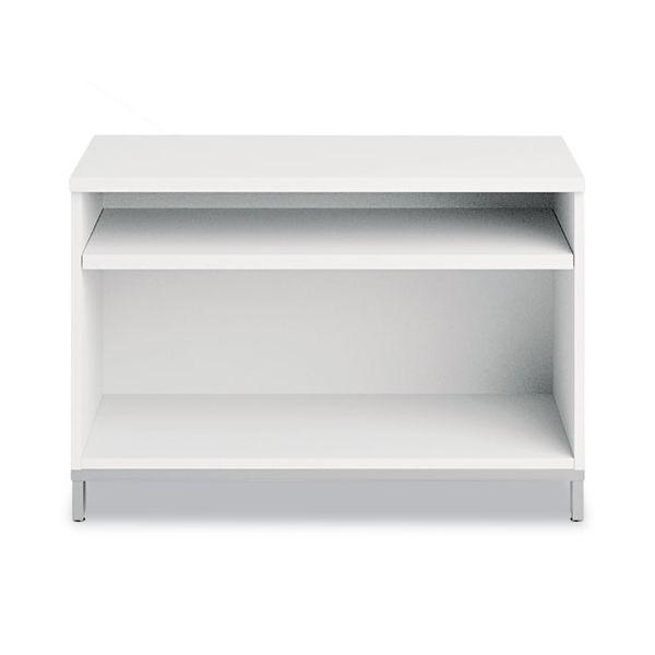 "Bush Furniture 36""W x 24""H Open Storage Momentum: White"