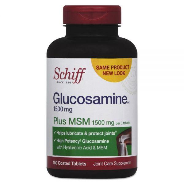 Schiff Glucosamine Plus MSM Tablets