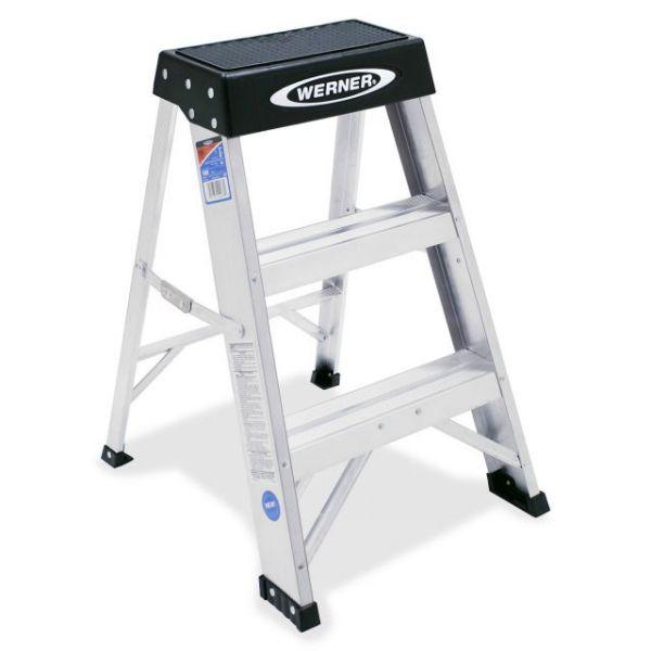 Werner 3-Step Step Ladder