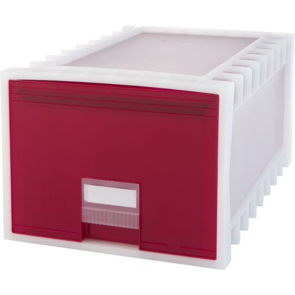 Storex Plastic Archive Storage Box