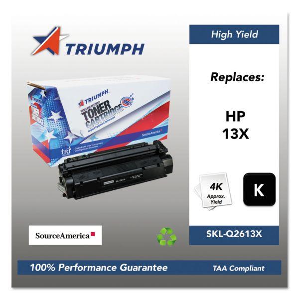 SKILCRAFT Remanufactured HP 13X High Yield Toner Cartridge