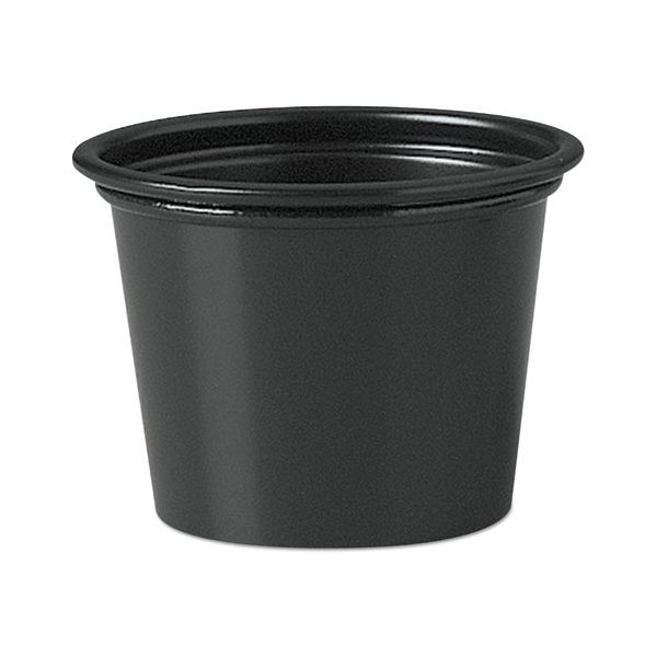 SOLO Cup Company 1 oz Plastic Portion Cups