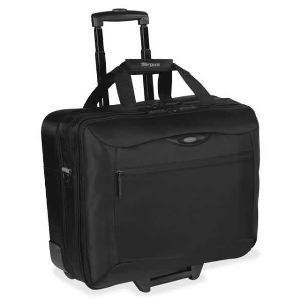 "Targus CityGear TCG717 Carrying Case (Roller) for 17"" Notebook - Black"