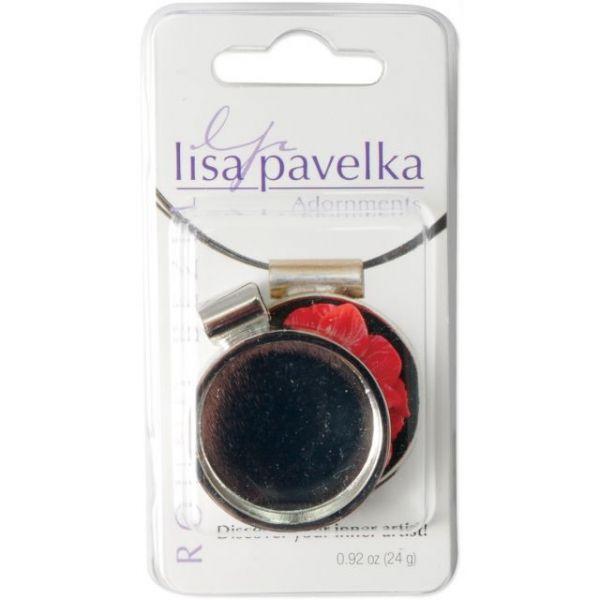 Lisa Pavelka Silver-Plated Bezel