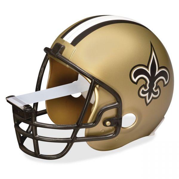 Scotch New Orleans Saints NFL Helmet Tape Dispenser