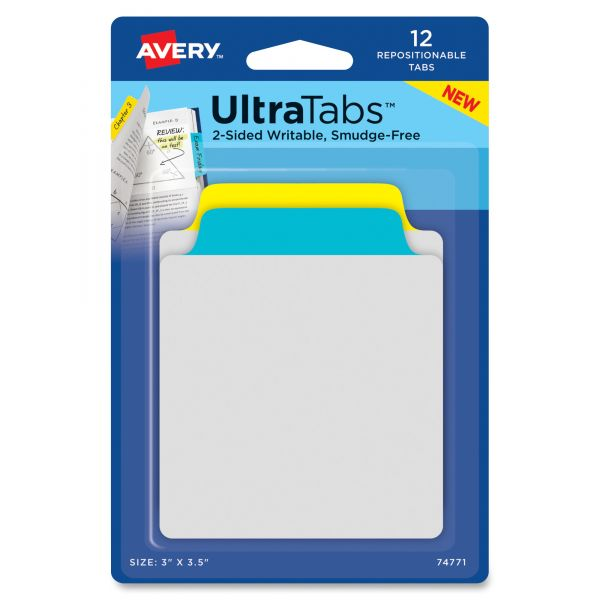 Avery Ultra Tabs Repositionable Tabs