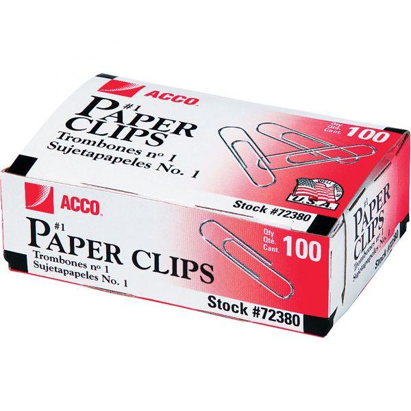 Acco #1 Paper Clips