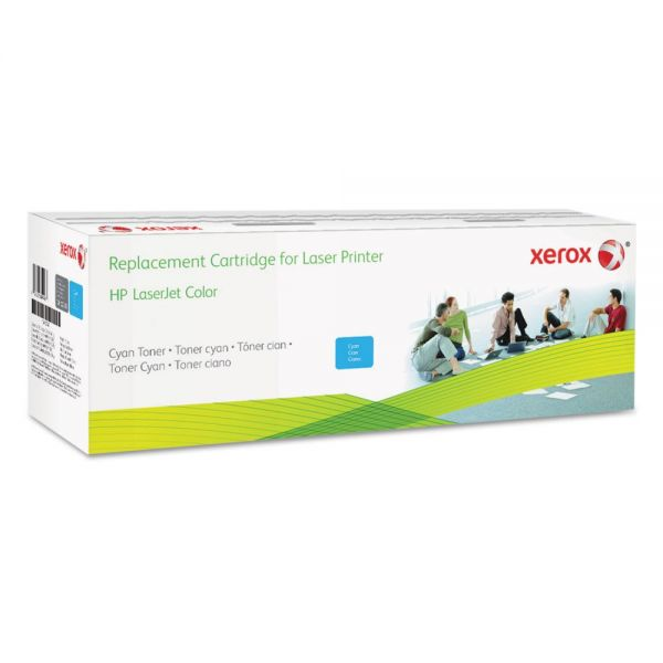 Xerox 006R03253 Remanufactured CF381A (312A) Toner, 2800 Page-Yield, Cyan
