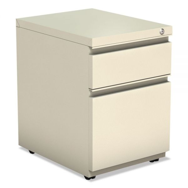 Alera 2-Drawer Mobile File Cabinet with Full Length Pull