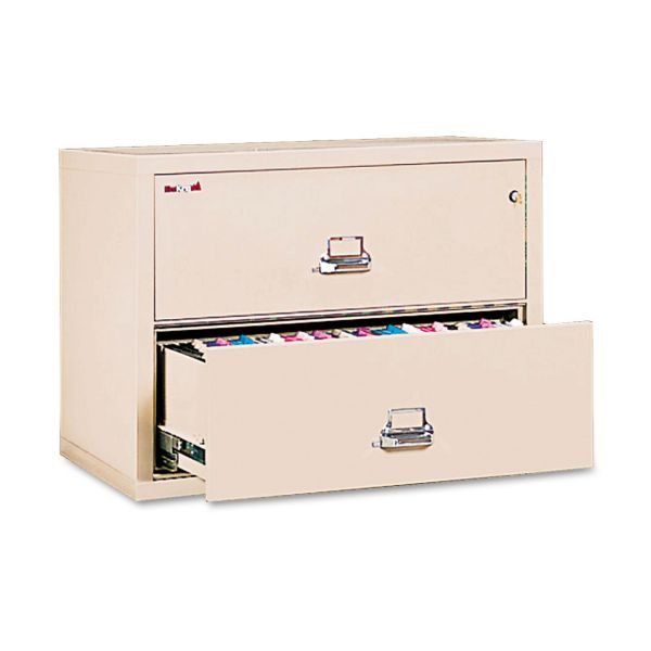 FireKing Insulated 2-Drawer Lateral Records File Cabinet