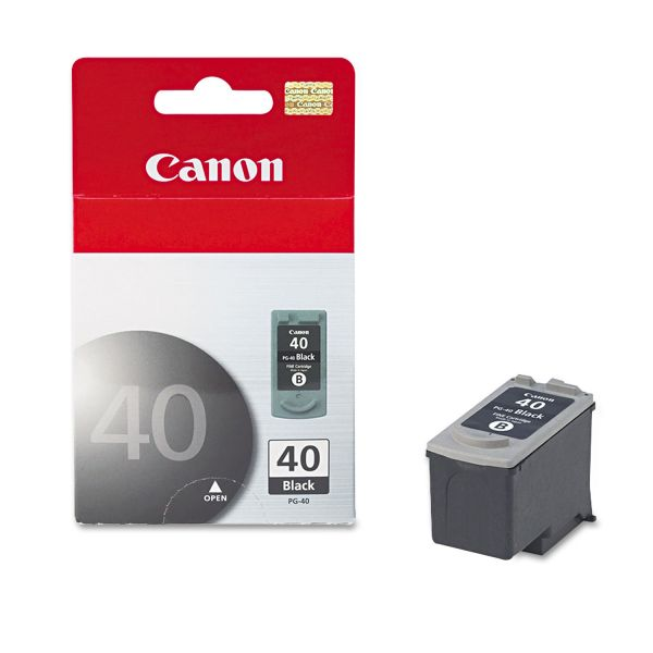 Canon PG-40 Black Ink Cartridge (0615B002)