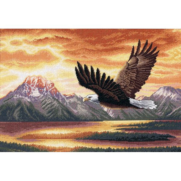 Dimensions Gold Collection Silent Flight Counted Cross Stitch Kit