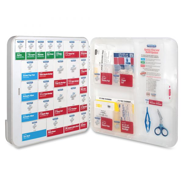 PhysiciansCare by First Aid Only XPRESS First Aid Kit Refill System with Medications, 370 Pieces/Kit