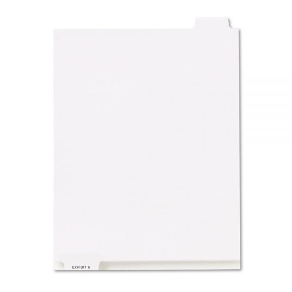 Kleer-Fax 80000 Series Bottom Tab Legal Index Dividers
