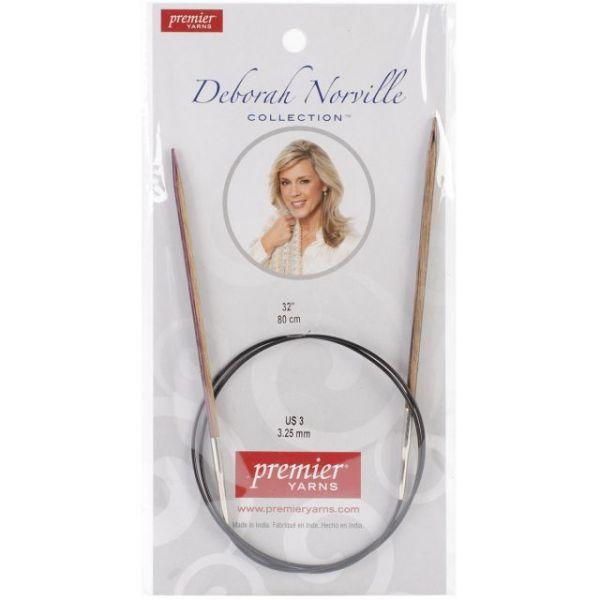 "Deborah Norville Fixed Circular Knitting Needles 32"""