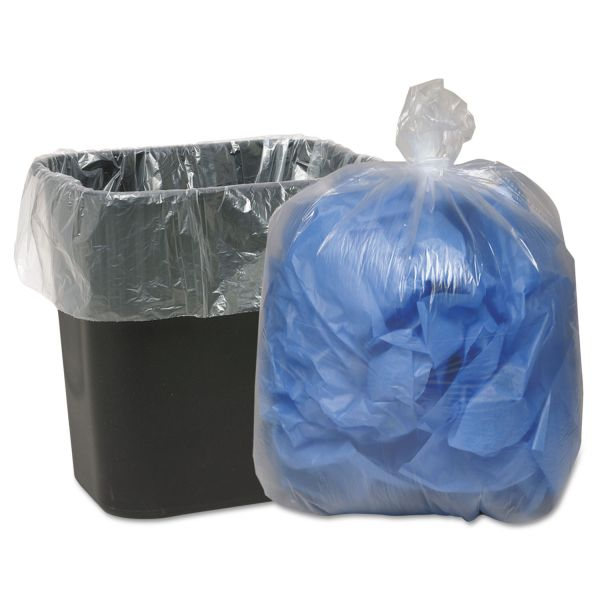 Webster Clear Linear 16 Gallon Trash Bags