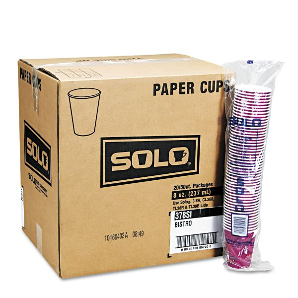 SOLO 12 oz Paper Coffee Cups