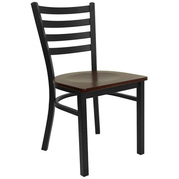 Flash Furniture Black Restaurant Chair