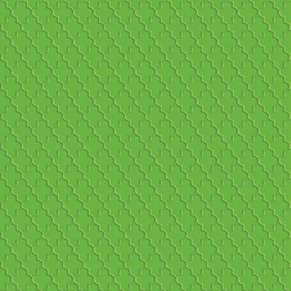 Ruby Rock-It Green Embossed Cardstock