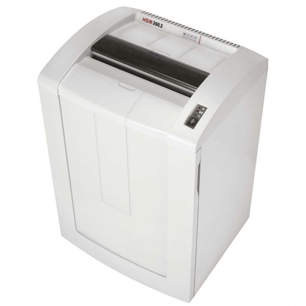 HSM of America 390.3 Professional Continuous-Duty Strip-Cut Shredder, 42 Sheet Capacity