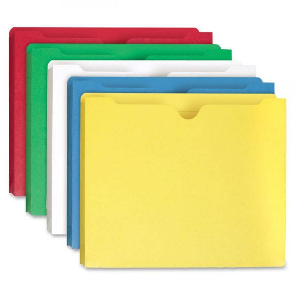 Smead 75688 Assortment Colored File Jackets