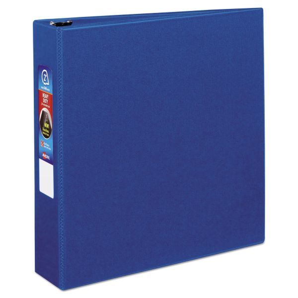"Avery Heavy-Duty Binder with One Touch EZD Rings, 11 x 8 1/2, 2"" Capacity, Blue"