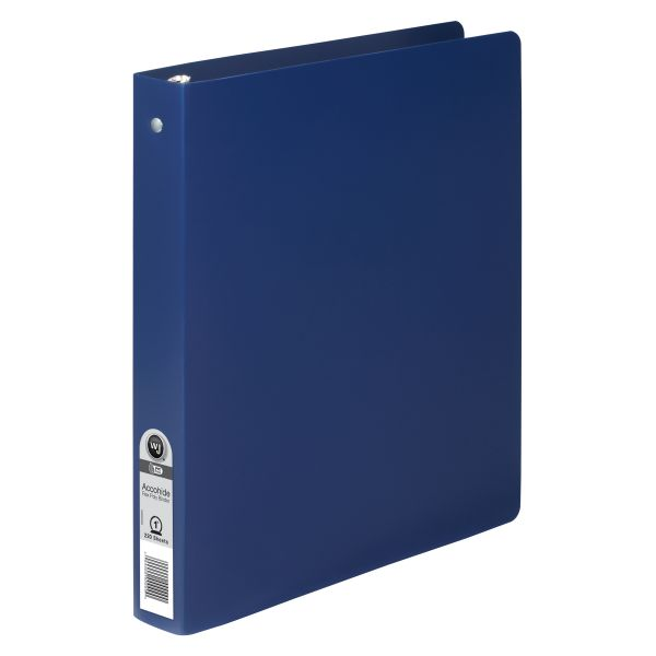 """ACCO Accohide Poly 1"""" 3-Ring Binder"""