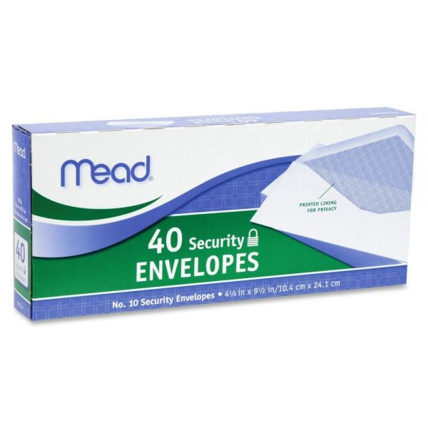 Mead Business Envelopes