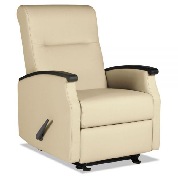 La-Z-Boy Contract Florin Collection Room Saver Recliner, Taupe Vinyl