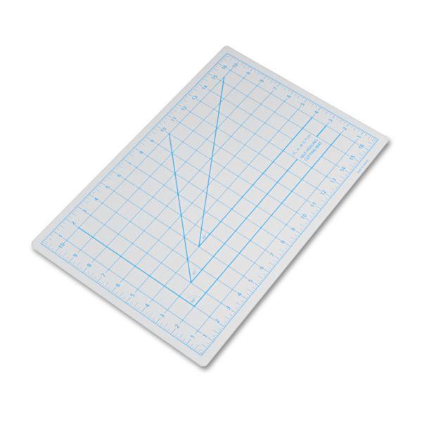 "X-ACTO Self-Healing Cutting Mat, Nonslip Bottom, 1"" Grid, 12 x 18, Gray"
