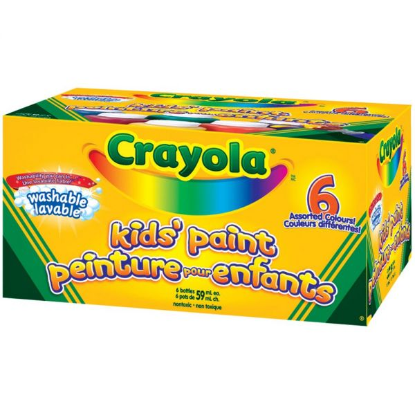 Crayola Washable Kid's Paints